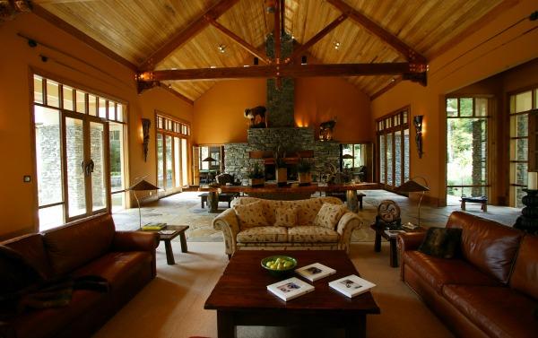 Treetops Lodge Rotorua, NZ - The Greatroom