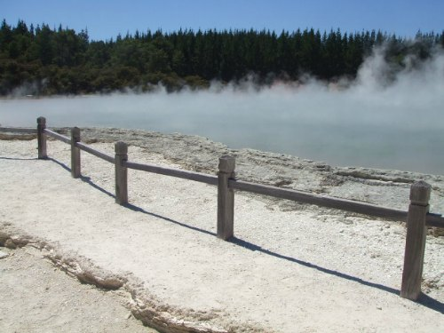 Champagne Pool at Waiotapu, Rotorua, NZ