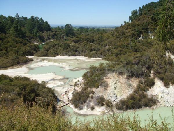 Waiotapu thermal area, Rotorua, NZ