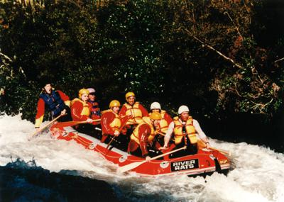 White Water Rafting Rotorua - Me and my team on the Rangitaiki