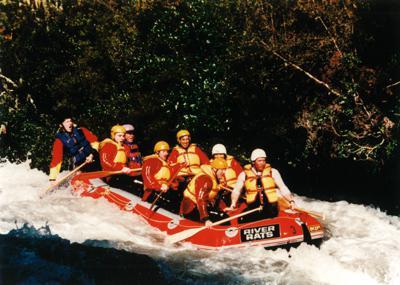 White Water Rafting Rotorua - Me and my team on the Rangitaiki