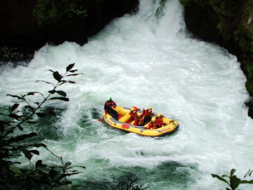 Whitewater rafting, Rotorua, NZ