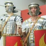 Bibleworld Museum & Discovery Centre - Roman armour model