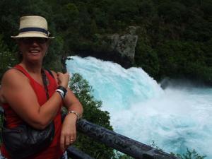 Huka Falls, between Rotorua and Taupo, NZ
