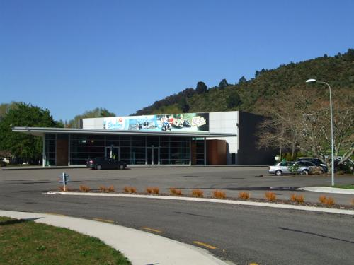 Rotorua Luge - Entry Building at Skyline