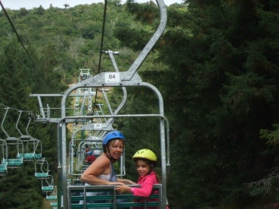 Rotorua Chairlifts - Family members