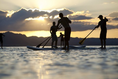 Rotorua Paddle Tours - SUP tour on the lak