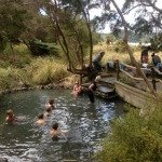 Natural Hot Water Pool at Lake Tarawera