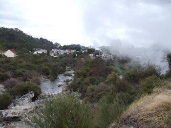 Puarenga Stream looking to Whakarewarewa Thermal Villag
