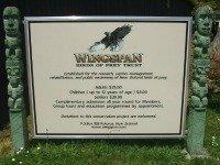 Wingspan sign at Rotorua, NZ